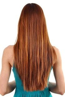 pictures of medium haircuts with shaped back tunsori in v