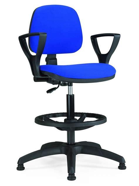 sgabello ufficio ml307 s sgabello operativo per ufficio altezza