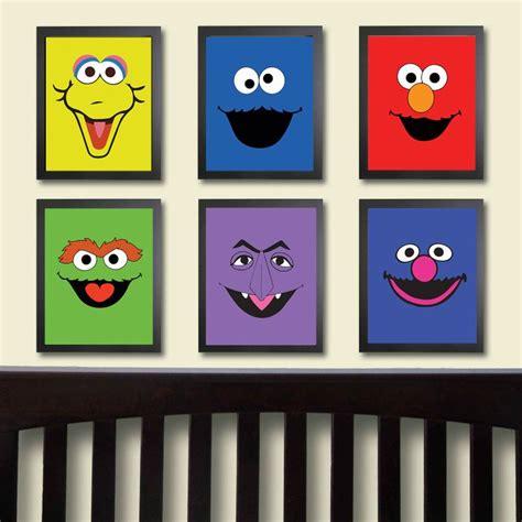 15 Best Sesame Street Bedroom Ideas Images On Pinterest Sesame Nursery Decor