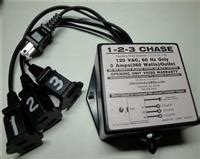 chase animation controller for holiday christmas light