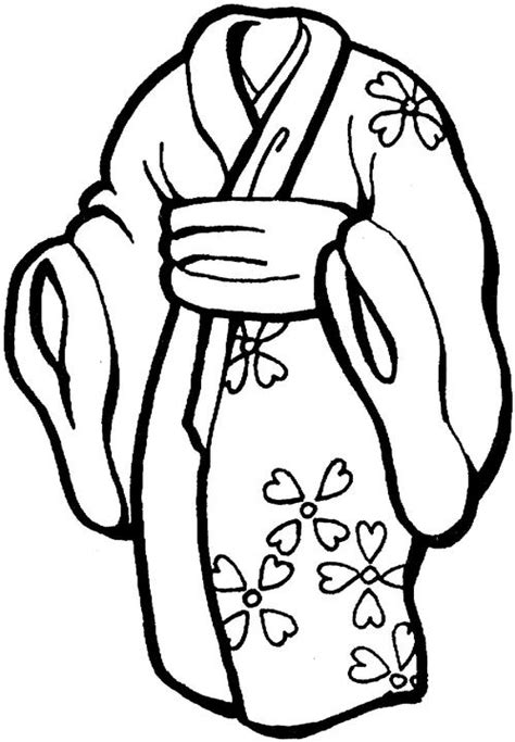 japanese kimono coloring page coloring pages japanese holidays
