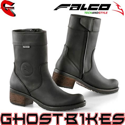 ladies short biker boots falco ayda short ladies waterproof motorcycle motorbike