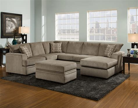 American Cribs by American Furniture 6800 Cornell Pewter Sectional