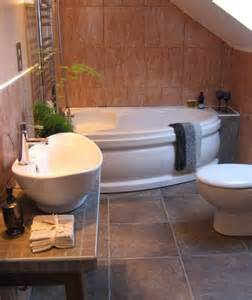 corner tub bathroom designs decorating tips for smaller en suite bathrooms