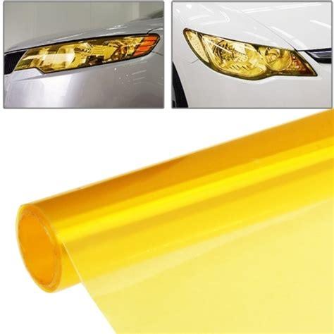 Handuk Olahraga Size 90 X 30cm protective decoration car light membrane l sticker size 90cm x 30cm gold alex nld