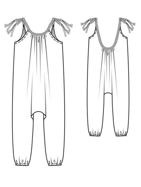 pattern for harem jumpsuit girl s harem jumpsuit 05 2013 143 girls patterns and