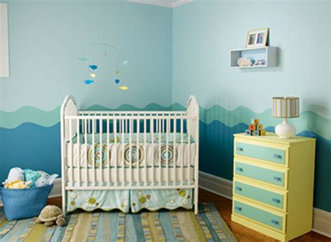 baby boys nursery room paint colors theme design ideas seaside 171 interior images photos
