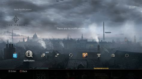 ps4 themes background the order 1886 ps4 dynamic theme 1
