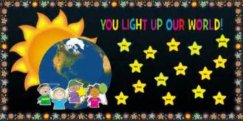 Full Moon Party Decorations You Light Up Our World Teacher Appreciation Display