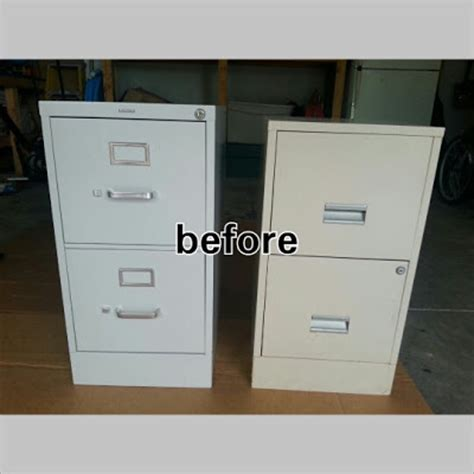 painting a file cabinet alas 3 lads diy project painted metal file cabinet