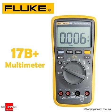 Fluke 17b Multimeter Digital fluke 17b auto range multimeter for voltage resistance current with backlight shopping