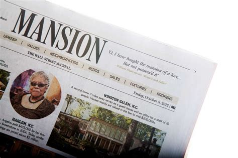 wall street journal mansion section wsj debuts mansion with shakespeare quote nymag
