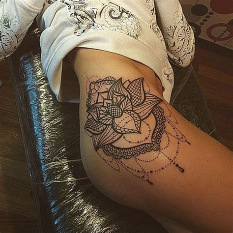 tattoos for women s thighs 10 thigh tattoos for pop