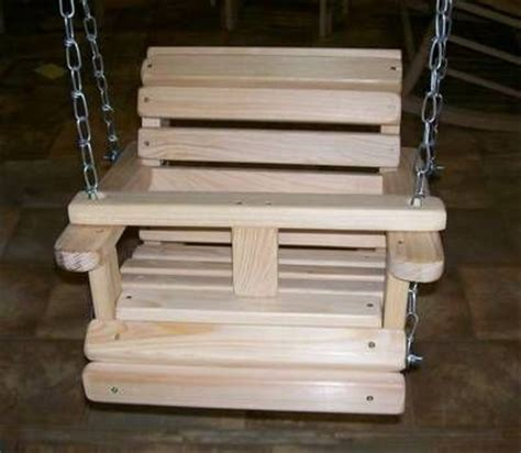 wooden baby swing plans details about baby child children s bench porch swing