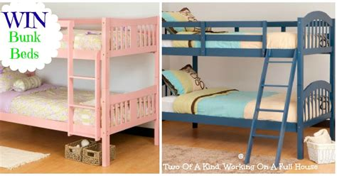 Stork Craft Bunk Beds Got Giveaways 2 26 Giveaway Linky Two Of A Working On A House