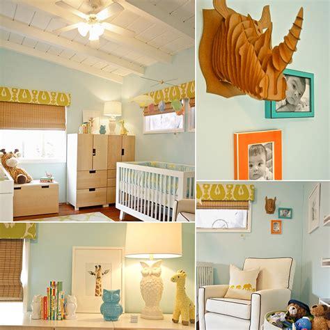 Green Nursery L by Playful Blue And Green Baby Boy Nursery