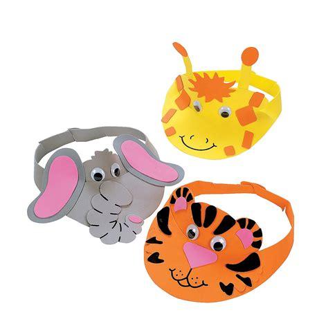 animal craft for zoo animal visor craft kit trading