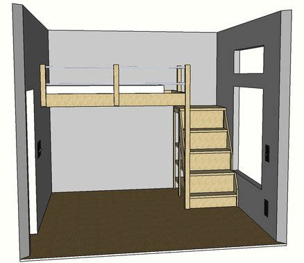 full size loft bed plans free plans for loft beds full size quick woodworking
