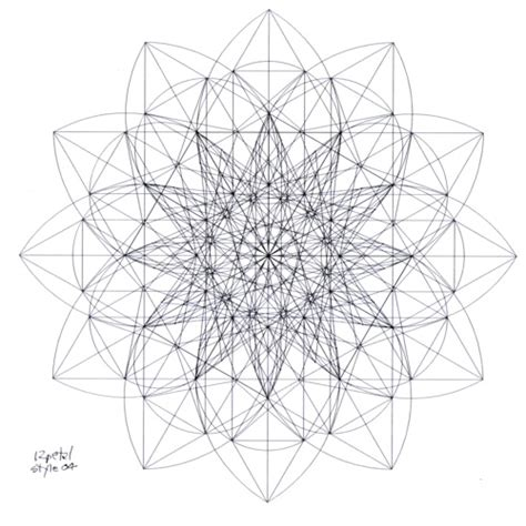 real geometric coloring pages 1000 images about sacred patterns on pinterest platonic