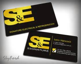 94 modern professional electrical business card designs