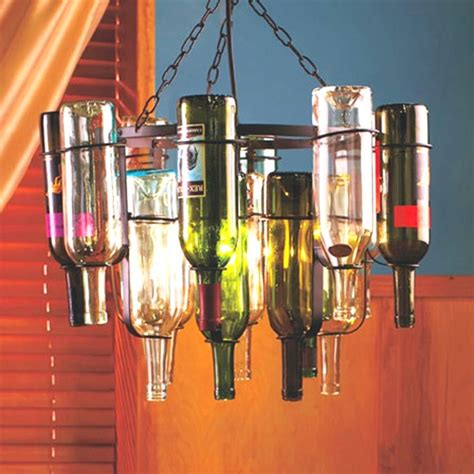 Wine Bottle Light Fixture Chandelier Wine Bottle Light Fixture C A F E S R E S T A U R A N T B A K