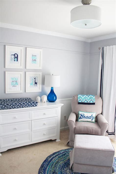 Pottery Barn Kids Decor Little Boy Blue Nursery Project Nursery