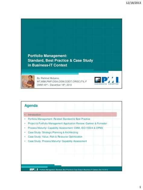 Best Mba For Portfolio Management by Portfolio Management Program Project By Rahmat Mulyana