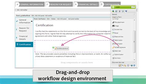 html design drag and drop introduction to aem forms