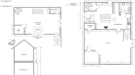 art studio floor plans zero art studio final floor plan tate eskew