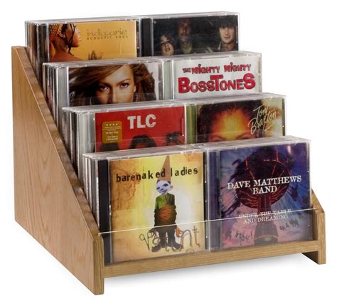cd rack display cd dvd holders for retail display feature countertop design