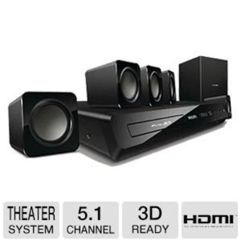 philips 3d 5 1 home theater system electronics
