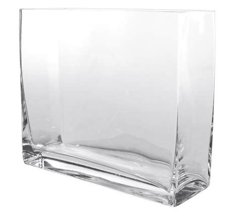 vasi trasparenti vetro vasi e decori vasi vetro rettangolari