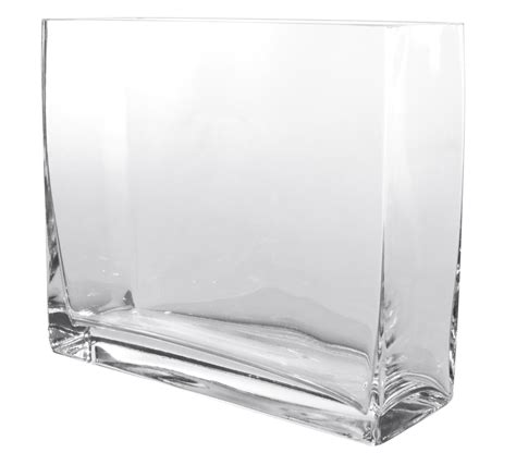 vaso vetro rettangolare vasi e decori vasi vetro rettangolari