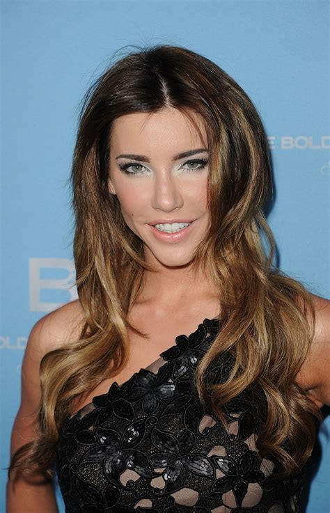 bold and beautiful steffy jacqueline macinnes wood jacqueline macinnes wood at anniversary party for cbs the