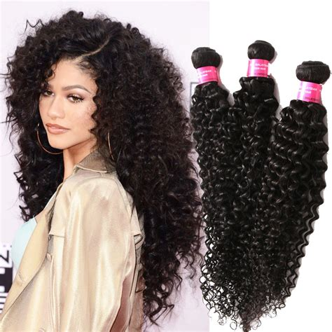curly weft human hair extension real human curly hair extensions 50g pc black curly hair