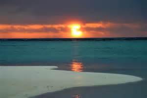 voyagez 224 tahiti en photos coucher de soleil sur le