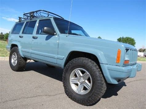 jeep custom paint find used 2001 jeep sport xj 4x4 4 0 custom paint