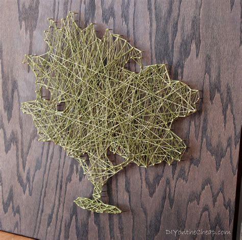 String Tree - diy tree string erin spain