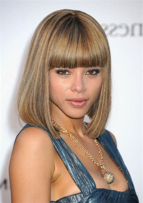 paige boy haircut for girls ana araujo medium straight pageboy haircut with blunt