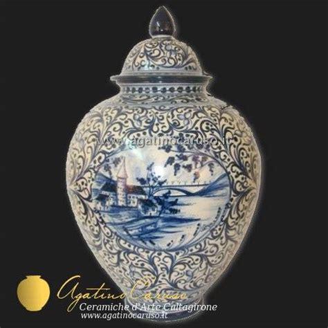 vasi caltagirone vasi caltagirone dipinti a mano vaso in ceramica decoro