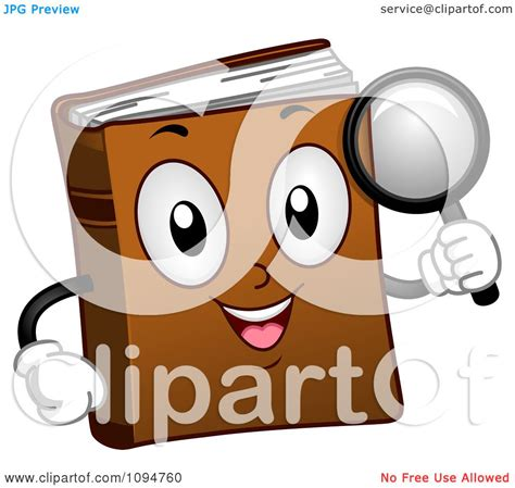 studio designs magnifying l clipart happy dictionary book holding a magnifying glass