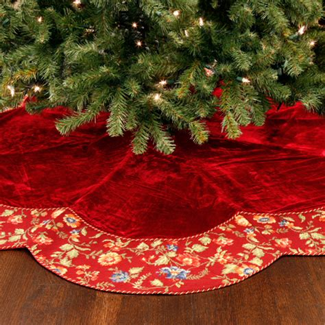 sew your own christmas tree skirt sew what s new