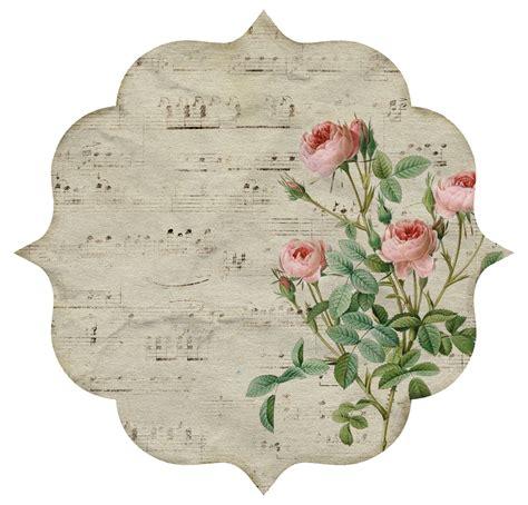 imagenes de flores vintage para imprimir 10 etiquetas rom 225 nticas y vintage con flores para imprimir