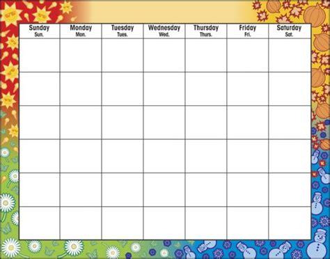 printable undated calendar template undated weekly printable calendars calendar template 2016