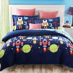 Rocket Duvet Space Bedding