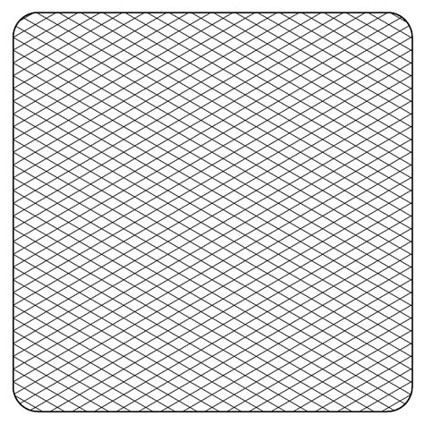 printable isometric graph paper for artists