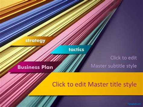 Free Business Plan Ppt Template Business Plan Template Powerpoint