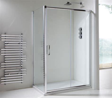 clear glass shower doors chlain ii 6mm clear glass sliding shower door 1200mm