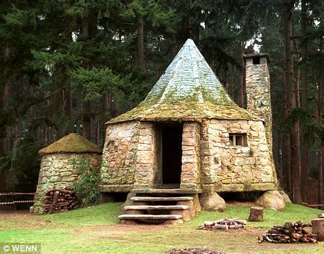 hagrid house harry potter author jk rowling plans to build hagrid s hut in her back garden daily