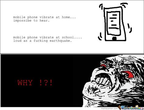 Mobile Meme - mobile phone vibrate at home at school by serkan meme